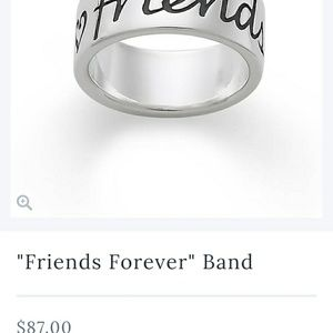 "James Avery ""Friends Forever"" Ring"